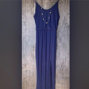 Lulus Navy Blue Dress